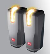 Turvakiired LED tulega